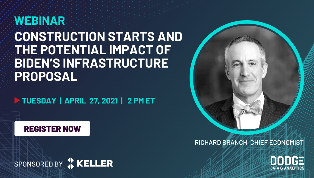Construction Starts and the Potential Impact of Biden's Infrastructure Proposal Webinar